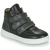 Schuhe Jungen Sneaker High Citrouille et Compagnie NOSTI Schwarz / Grau