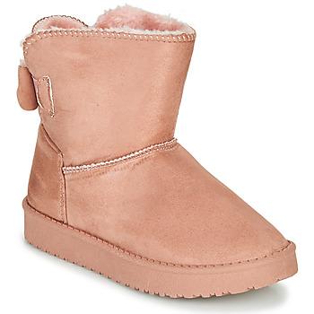 Schuhe Mädchen Boots Citrouille et Compagnie NOCHO Rose