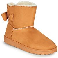 Schuhe Damen Boots Moony Mood NOWER Camel