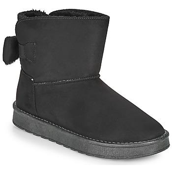 Schuhe Damen Boots Moony Mood NOWER Schwarz