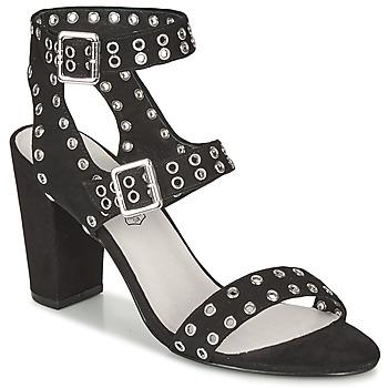 Schuhe Damen Sandalen / Sandaletten Les Petites Bombes GLAILEUL Schwarz