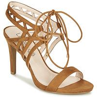 Schuhe Damen Sandalen / Sandaletten Les Petites Bombes MACHA Camel