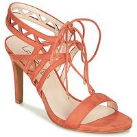 Schuhe Damen Sandalen / Sandaletten Les Petites Bombes MACHA Korallenrot