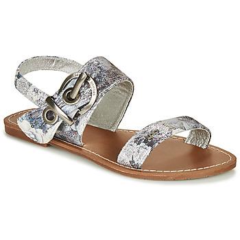 Schuhe Damen Sandalen / Sandaletten Les Petites Bombes PERVENCHE Grau