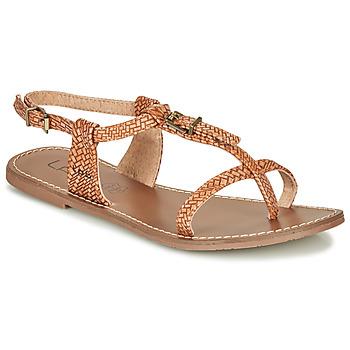 Schuhe Damen Sandalen / Sandaletten Les Petites Bombes ZHOEF Camel