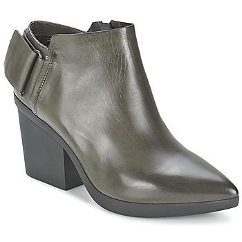 Schuhe Damen Ankle Boots Vic REVEBE Grau