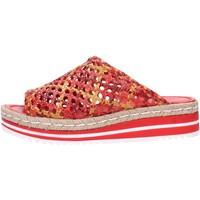 Schuhe Damen Pantoffel Pon´s Quintana 8348.000 Multicolore