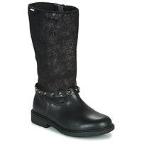 Schuhe Mädchen Klassische Stiefel Pablosky 488012 Schwarz