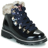 Schuhe Mädchen Boots Pablosky 489629-J Blau