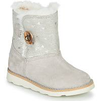 Schuhe Mädchen Boots Pablosky 491506 Grau