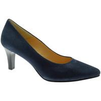 Schuhe Damen Pumps Soffice Sogno SOSO20030bl blu