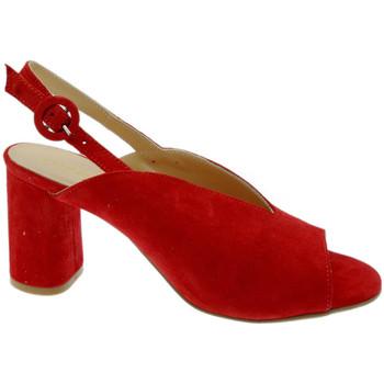 Schuhe Damen Sandalen / Sandaletten Soffice Sogno SOSO20150ro rosso