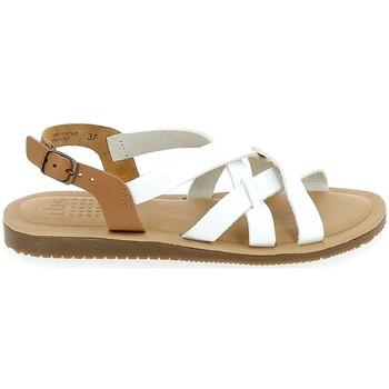 Schuhe Damen Sandalen / Sandaletten TBS Belluci Blanc Weiss