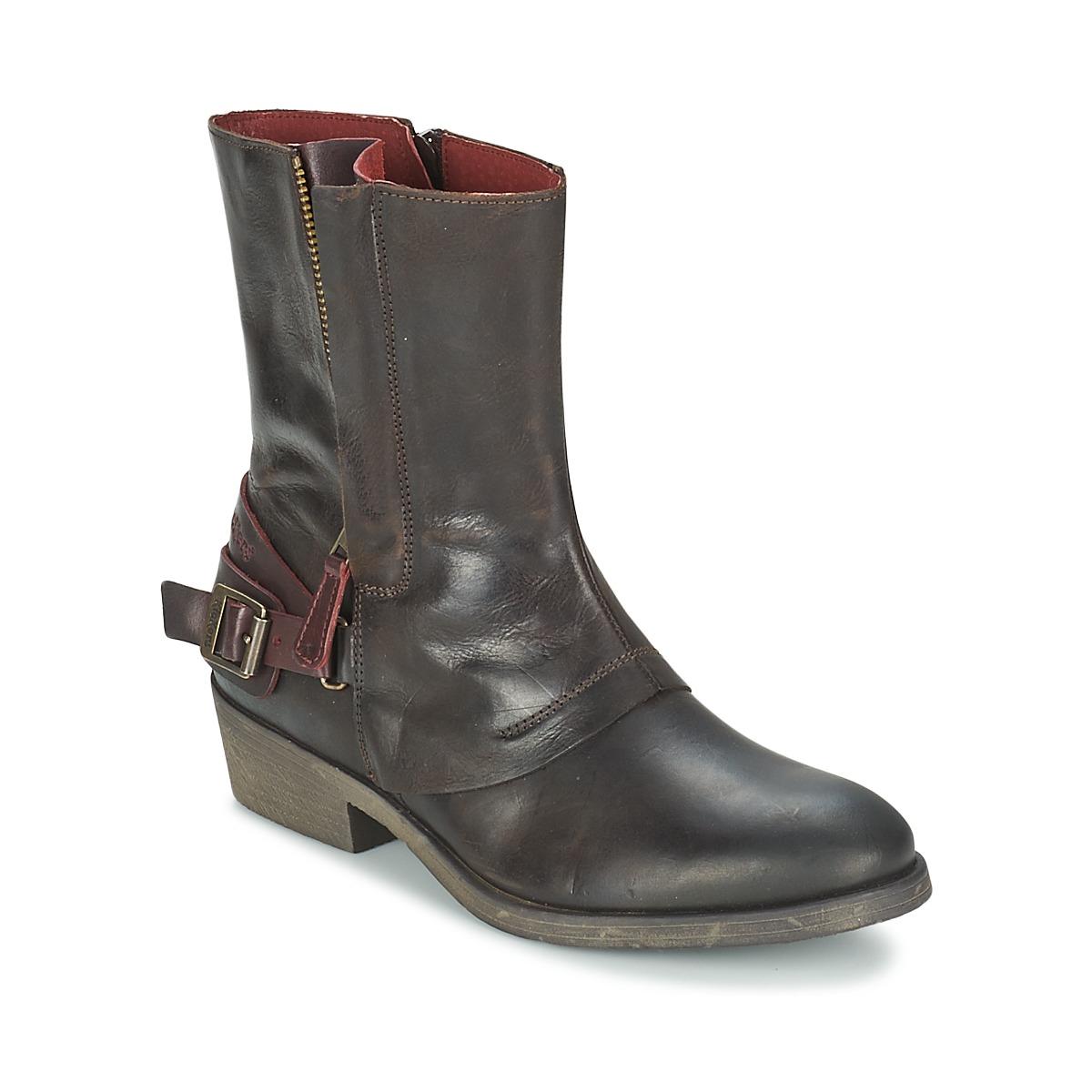 900e2e86215c Kickers AMERIKO Braun - Kostenloser Versand bei Spartoode ! - Schuhe Boots  Damen 79,50
