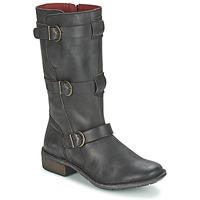 Schuhe Damen Klassische Stiefel Kickers GROWUP Schwarz
