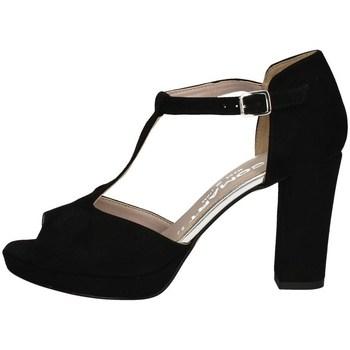 Schuhe Damen Sandalen / Sandaletten Comart 303336 SCHWARZ