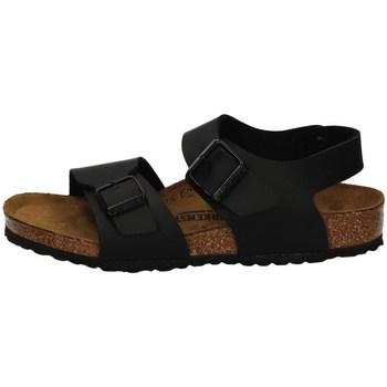 Schuhe Jungen Sandalen / Sandaletten Birkenstock 187603 BLACK