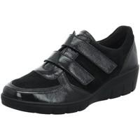 Schuhe Damen Slipper Semler Slipper J7065-586-001-Judith schwarz