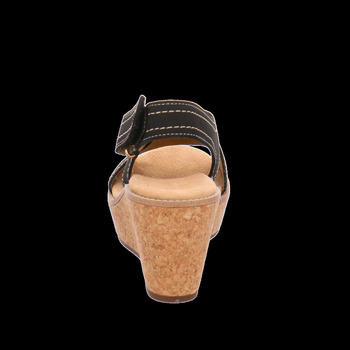 Clarks Sandaletten 26125080 Aisley Tulip schwarz - Schuhe Sandalen / Sandaletten Damen 9743
