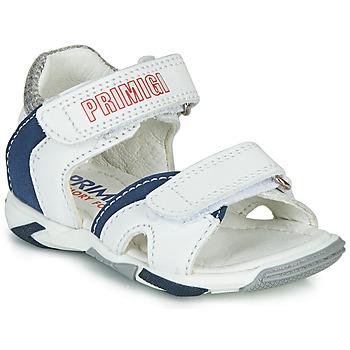 Schuhe Jungen Sandalen / Sandaletten Primigi  Weiss