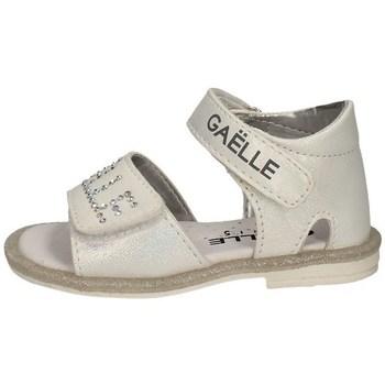 Schuhe Mädchen Sandalen / Sandaletten GaËlle Paris G-330 Weiss