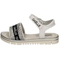 Schuhe Mädchen Sandalen / Sandaletten GaËlle Paris G-321 Silbern