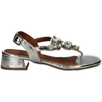 Schuhe Damen Sandalen / Sandaletten Annalu' 3MRS06E0 SILBER