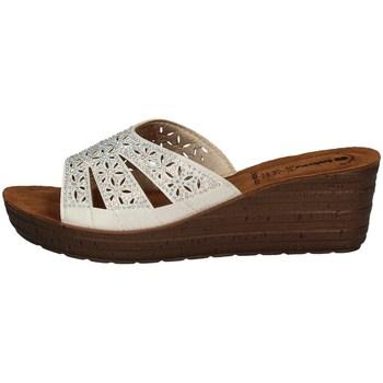 Schuhe Damen Pantoffel Inblu GM 35 WEISS