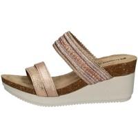 Schuhe Damen Pantoffel Inblu EN 16 KUPFER