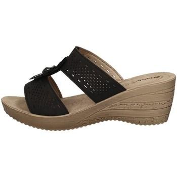 Schuhe Damen Pantoffel Inblu GZ 37 SCHWARZ
