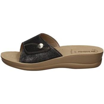 Schuhe Damen Pantoffel Inblu VR 57 SCHWARZ