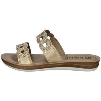 Schuhe Damen Pantoffel Inblu BA 23 PLATIN