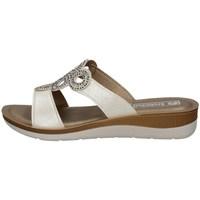 Schuhe Damen Pantoffel Inblu BV 14 WEISS