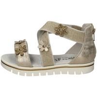 Schuhe Mädchen Sandalen / Sandaletten Nero Giardini E021482F Silbern