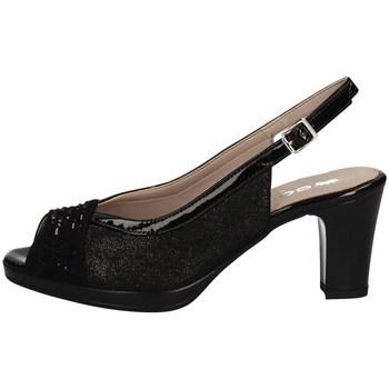 Schuhe Damen Sandalen / Sandaletten Comart 323320 Mit Ferse Frau SCHWARZ SCHWARZ