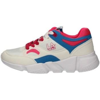 Schuhe Damen Sneaker Low L.A. Gear LA202 WEISS