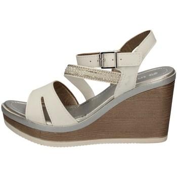 Schuhe Damen Sandalen / Sandaletten Inblu IK 9 WEISS