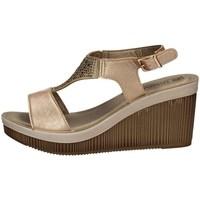 Schuhe Damen Sandalen / Sandaletten Inblu AS 22 KUPFER