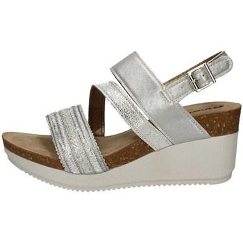 Schuhe Damen Sandalen / Sandaletten Inblu EN 17 SILVER