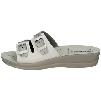 Schuhe Damen Pantoffel Inblu VR 46 SILVER