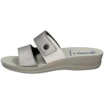 Schuhe Damen Pantoffel Inblu VR 47 SILVER