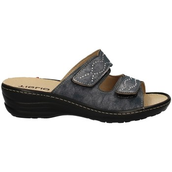 Schuhe Damen Pantoffel Tiglio 2713 BLUE