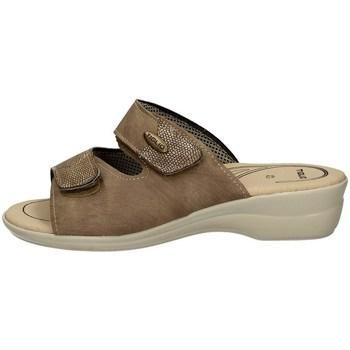 Schuhe Damen Pantoffel Tiglio 182 BEIGE