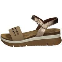 Schuhe Damen Sandalen / Sandaletten Imac 509190 TORTORA