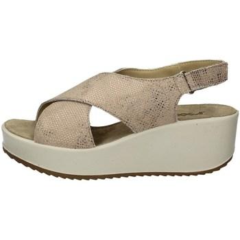 Schuhe Damen Sandalen / Sandaletten Imac 508310 TAUPE