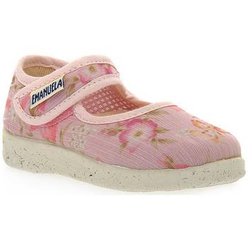 Schuhe Mädchen Sandalen / Sandaletten Emanuela ROSA SANDALO Rosa