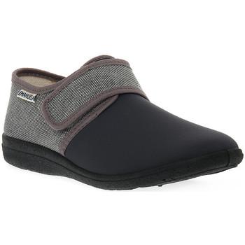 Schuhe Herren Hausschuhe Emanuela GRIGIO PANTOFOLA Grigio