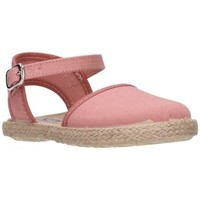 Schuhe Mädchen Leinen-Pantoletten mit gefloch Batilas 45801 antique Niña Gris gris