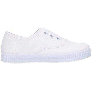 Schuhe Jungen Sneaker Low Batilas 57701 Niño Blanco blanc