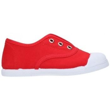 Schuhe Jungen Sneaker Low Batilas 87701 Niño Rojo rouge
